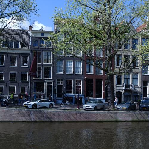 Een gracht in Amsterdam