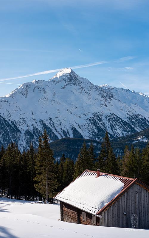 Het uitzicht vanaf Stallwies Alm