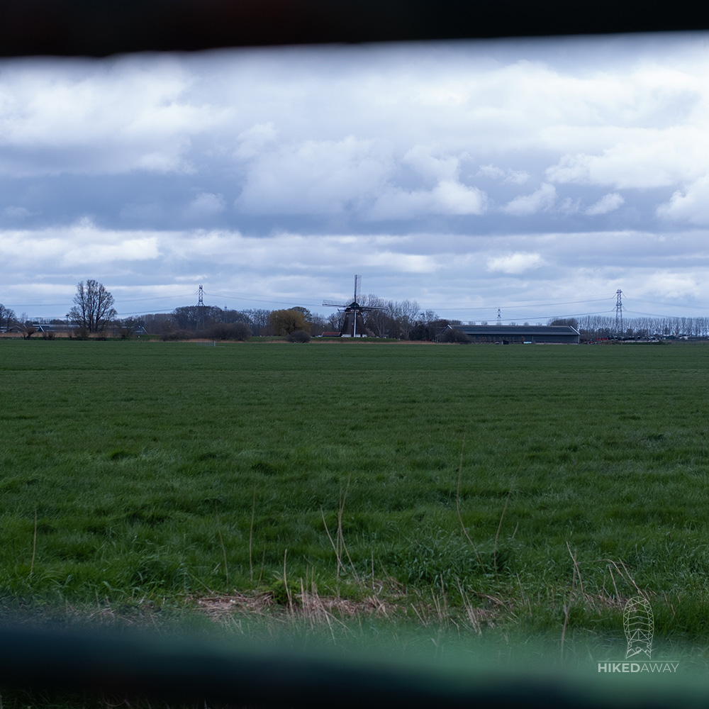 Windmill in the distance